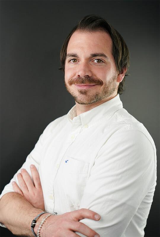 Stefan Tschumi Portrait Hochformat
