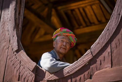 Monastery Man Myanmar
