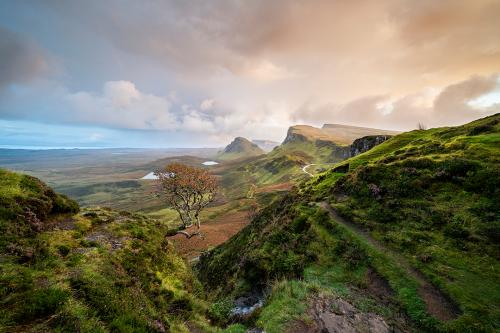 Quiraing Sunset