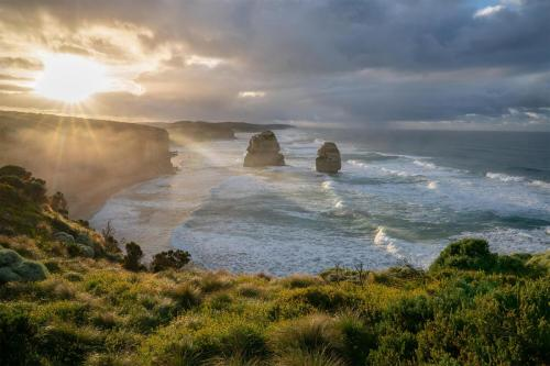 Twelve Apostles sunrise morning